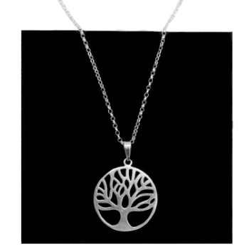 Tree of Life 925 Sterling Silver Necklace