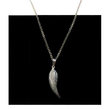 Angel Wing Handmade Sterling Silver Necklace