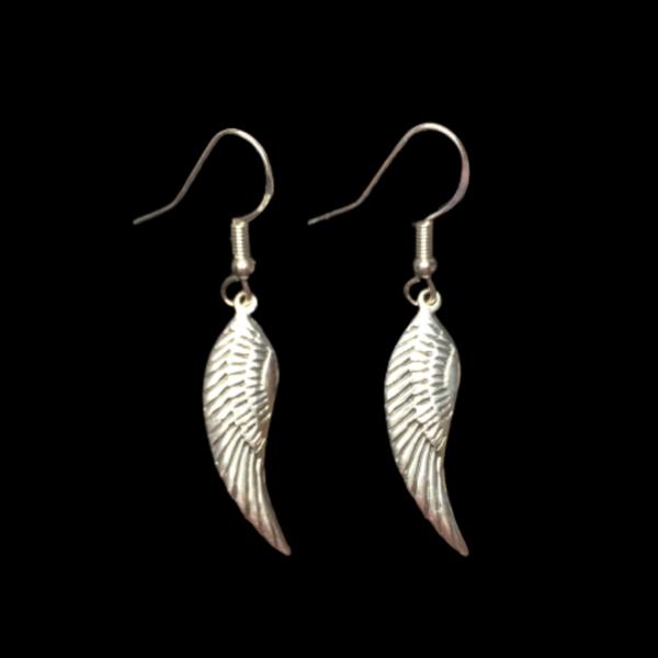 Angel Wing Handmade 925 Sterling Silver Earrings